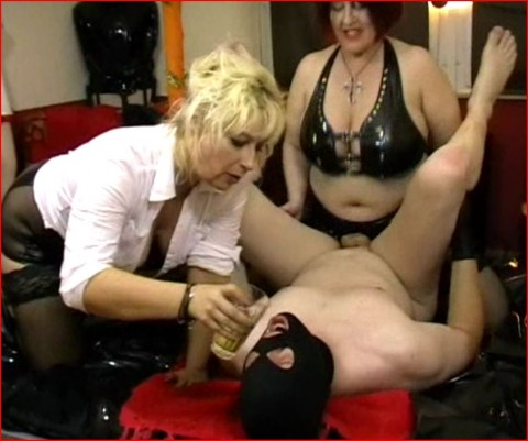 Lesben Grossmutter Leggings Creampie