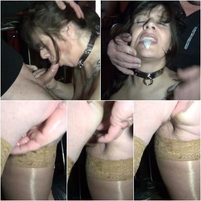 Bodybuilderin Muschisaft Sexspielzeuge Creampie